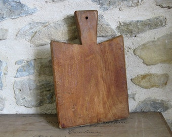 French cutting board primitive French wood chopping block
