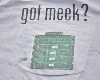 90's Joe Meek Vintage T-Shirt XL Synth The Tornados Experimental Pop Tee Shirt 60's