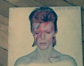 David Bowie - Aladdin Sane Gatefold vinyl record album, Jean Genie  RCA  LSP-4852, 1973,