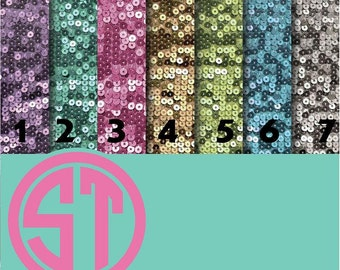 Sequins Prints printed Vinyl or HTV to use in vinyl cutter... choose from 6x6, 8.5x11, 12x12, 12x24 or 12x36