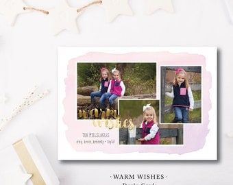 Warm Wishes Holiday Cards