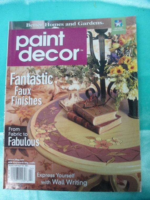 The Paint Decor Magazine 2001 April Back Issue 112 Pages