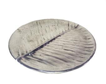 Metal Leaf Platter