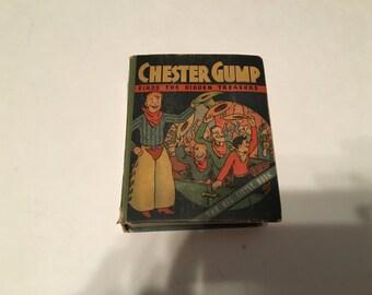 chester gump finds the hidden treasure big little book