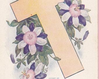 "Ca. 1907 ""Christmas Greetings"" Postcard - 1561"