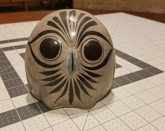 Vintage Hand Painted Owl