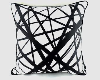 Modern print pillow cover