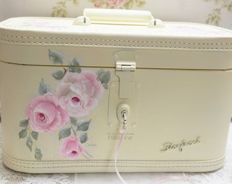 Rose Train Case