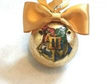 Harry Potter Hogwarts Christmas Tree Baubles