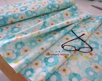 Spring All Over (Aqua) - Vignette - Laura Gunn - Michael Miller Fabrics - 1 Yard