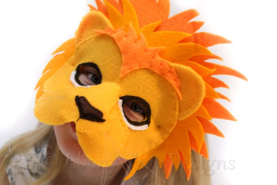 Pattern For Lion Mask 48