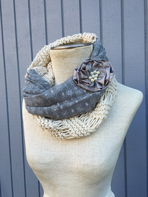 Knitting Accessories : Knit scarf, Knitting accessories, Women accessories, Hand knit scarf ...