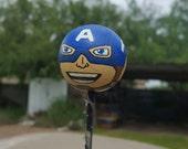 Captain America Antenna Ball