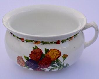 1950s Planter Vintage Planter Vintage Chamber Pot Vintage Potty Vintage Home Decor Vintage Housewares Mid Century Planter