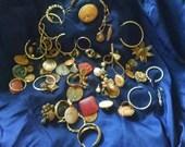 Destash of Rusted Vintage Jewelry