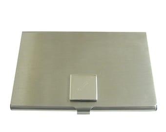 Engraved Phlebotomist Hypodermic Needle Business Card Holder