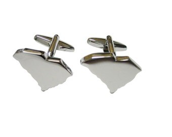 South Carolina Map Shape Cufflinks