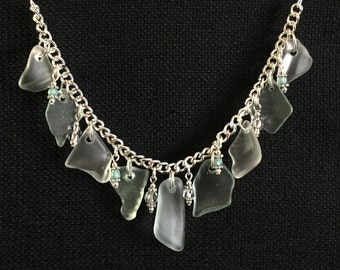 Lake Superior Beach Glass Necklace