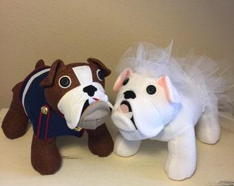 Ms Bulldog Bridal Outfit