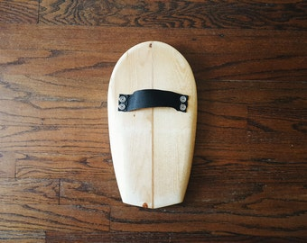 Body Surfing Hand Plane - Sea Dog - Shaped From Reclaimed Lumber