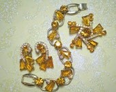 D&E aka Juliana Amber Demi Parure   Item: 13615