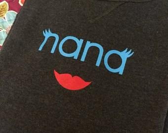 Nana Lips Sweatsirt