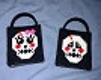 Lil Skull Couple Totes