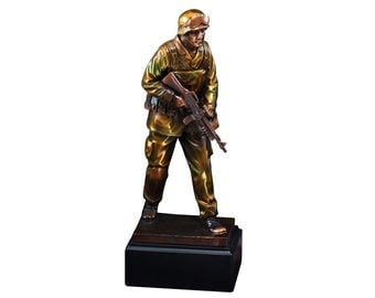 Military Resin Sculpture (BLRFB063)