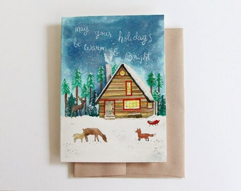 May your holidays be warm and bright Card