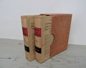 Antique Law Books - Common Legal Principles That Every One Should Know Vol I & II - 1935 - Law Textbook - Reference Book