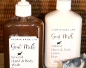 Utopia Bath Goat Milk Hand & Body Set