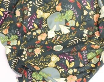 Moon Stories Unisex Baby Blanket | Swaddle Blanket | Baby Blanket & Hat Gift by JuteBaby