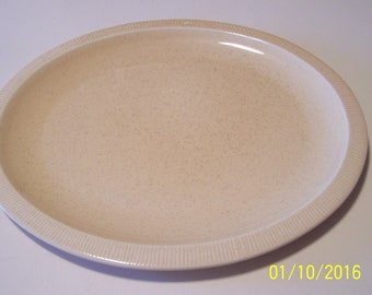 Franciscan Durable China Platter ( yellow speckled )