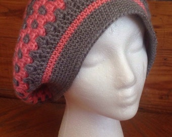 Crochet Multicolored Hipster Hat