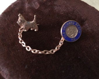 Scottie Dog Pin / Old Orchard Beach Maine Dog Pin
