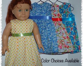 "Sleeveless Dress  18"" Doll (American Girl 18"" Doll)"