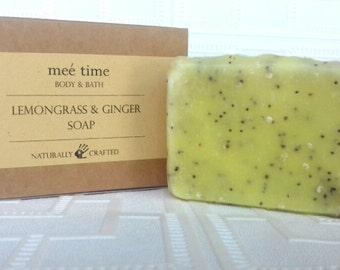 Lemongrass and Ginger Handmade Soap