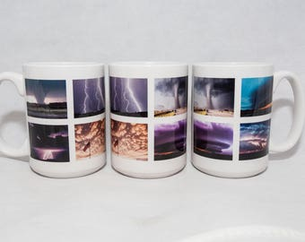 15 oz. Coffee Mug w/ Multiple Images of Severe Weather