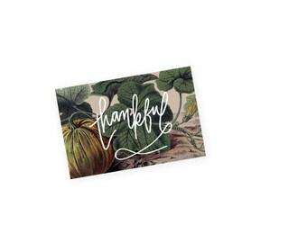 Thankful Harvest Art Card
