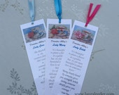 3 Downton Abbey Teacup Bookmarks Ideal Party Favors And Hostess Gifts