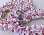 Cherry blossom hawaiian flower lei