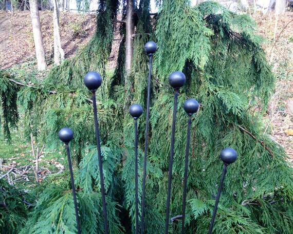 Flower Pod Yard And Garden Sculpture Modern Landscape Art