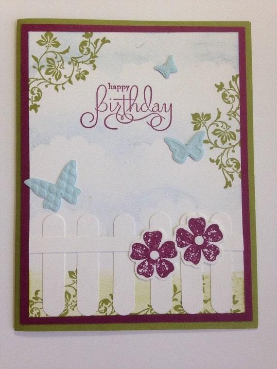 stampin' up elegant birthday card kit