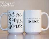 MUG ~ Future Mrs. Mug ~ Proposal Mug ~ Engaged Cup ~ Engaged Gift ~ Engaged Mug ~ Engagement Mug ~ Bride to Be ~ Coffee Mug ~ Mugs ~ MPH106