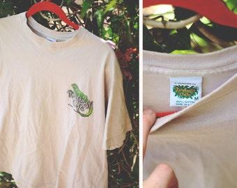 Vintage 1980s rainforest Cafe San Francisco T-shirt.