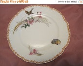 ON SALE 4 Haviland Limoges Hand Painted Plates