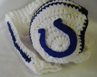Crochet Football Helmet And Pants Set - Made To Order