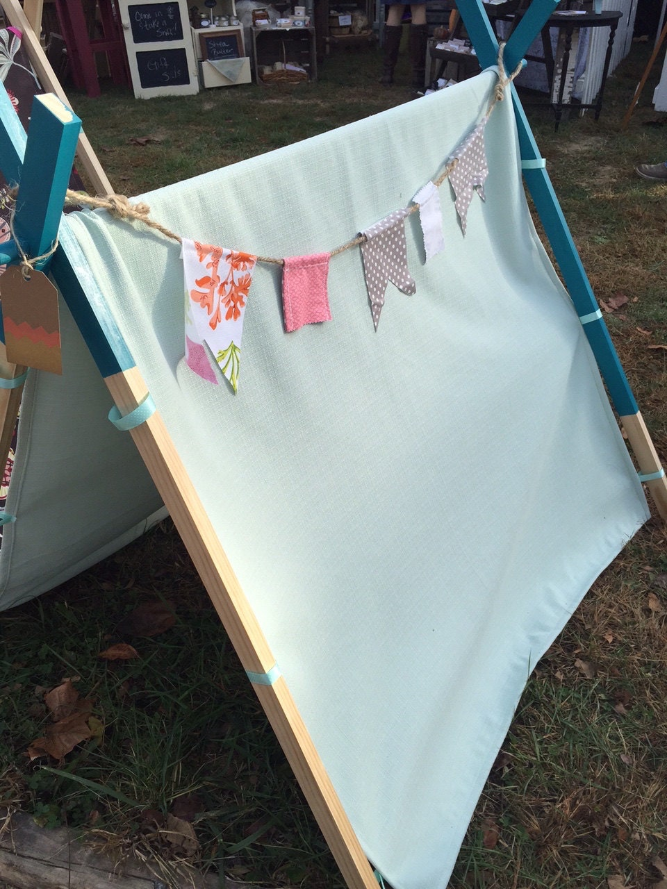 Cozy Home Play Tent Aqua By Myindianahome On Etsy