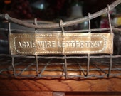 ACME Wire desk basket