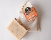 5 Paddles Beer Soap, Lemon Mint & Barley, All natural soap, gifts for him, Craft Beer, handmade soap, Beer Soap
